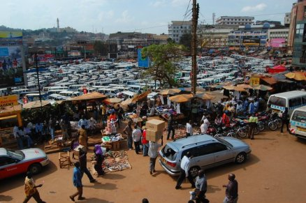 Old Taxipark in Kampala